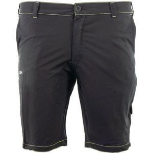 ALPINE PRO ANASS 2 černá 54 - Pánské šortky