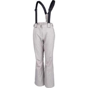 ALPINE PRO ARGA šedá XS - Dámské lyžařské kalhoty