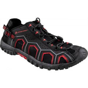 ALPINE PRO DORAM černá 46 - Pánská letní obuv