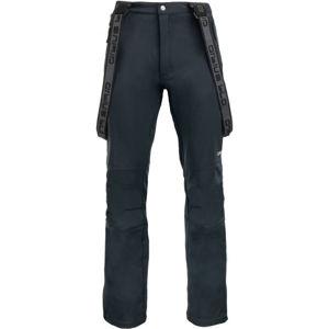 ALPINE PRO KERES černá XXL - Pánské lyžařské kalhoty