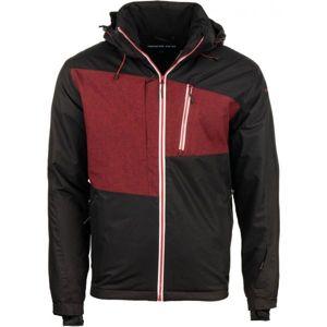 ALPINE PRO LORES černá M - Pánská lyžařská bunda