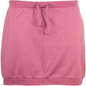 ALPINE PRO JAINA růžová L - Dámská sukně