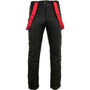 ALPINE PRO ZACH černá L - Pánské kalhoty