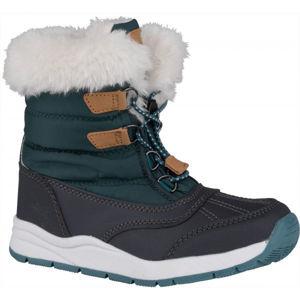 ALPINE PRO TEUTO  28 - Dětská zimní obuv