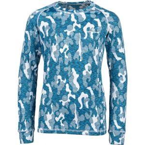 Arcore ELIAS modrá 128-134 - Dětské termo triko s dlouhým rukávem