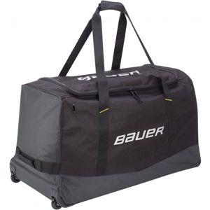 Bauer CORE WHEELED BAG JR černá NS - Juniorská hokejová taška