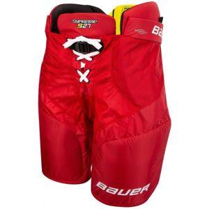 Bauer SUPREME S27 PANTS SR červená XL - Hokejové kalhoty