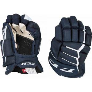 CCM JETSPEED 370 JR modrá 12 - Dětské hokejové rukavice