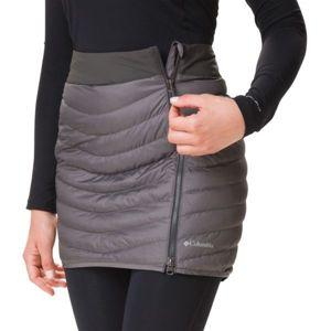 Columbia WINDGATES SKIRT tmavě šedá 14 - Dámská sukně