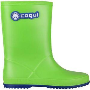 Coqui RAINY zelená 30 - Dětské holínky