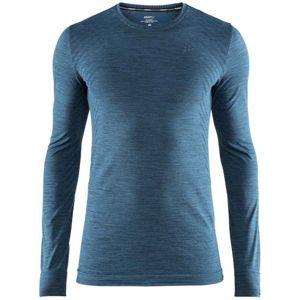 Craft FUSEKNIT COMFORT LS modrá L - Pánské funkční triko
