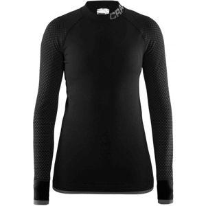 Craft WARM INTENSITY W černá M - Dámské funkční triko