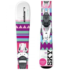 Elan SKY QS + EL 7.5  130 - Dívčí sjezdové lyže