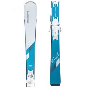 Elan WHITE MAGIC LS + ELW 9  146 - Dámské sjezdové lyže