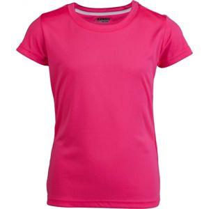 Kensis VINNI růžová 152-158 - Dívčí sportovní triko