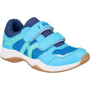 Kensis WIGO modrá 29 - Dětská sálová obuv