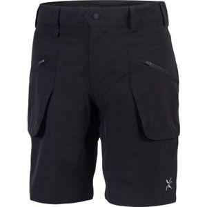 Klimatex BORGE černá S - Pánské šortky