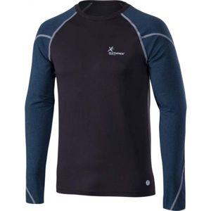 Klimatex CORNEL černá XXL - Pánské zimní triko s dlouhým rukávem