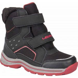 Lewro CRONUS černá 33 - Dětská zimní obuv