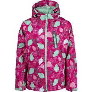 Lewro NICHOLA růžová 164-170 - Dívčí bunda