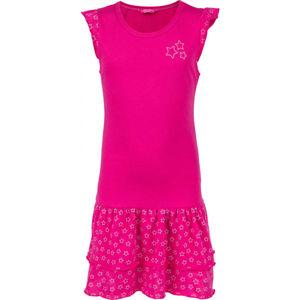 Lewro TOSCA  128-134 - Dívčí šaty s volány