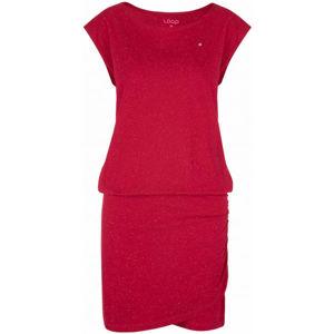Loap BUKKI růžová L - Dámské šaty