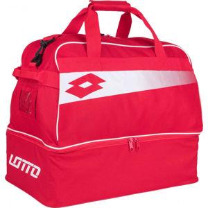 Lotto BAG SOCCER OMEGA JR II červená NS - Juniorská sportovní taška