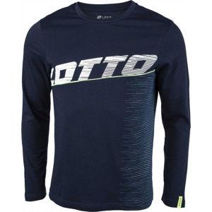 Lotto LOGO IV TEE LS JS  L - Pánské tričko s dlouhým rukávem