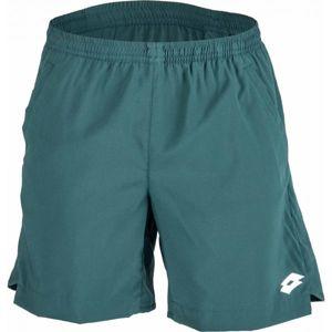 Lotto TECH SHORT 7 zelená XXL - Pánské tenisové šortky