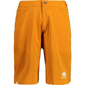 Maloja ROSSOM oranžová M - Pánské šortky na kolo