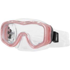 Miton PROTEUS JR růžová NS - Juniorská potápěčská maska