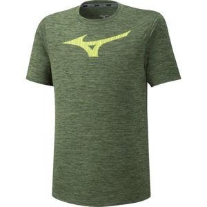Mizuno CORE GRAPHIC RB TEE  XXL - Pánské běžecké triko s krátkým rukávem
