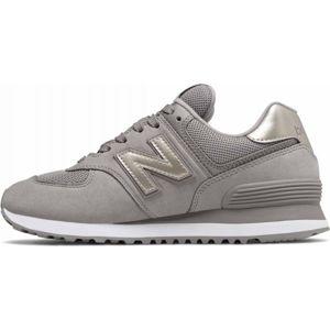 New Balance WL574WNK šedá 7 - Dámská vycházková obuv