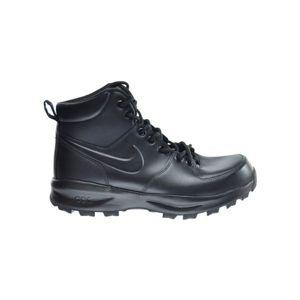 Nike MANOA LEATHER černá 9.5 - Pánská volnočasová obuv