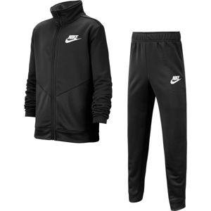 Nike NSW CORE TRK STE PLY FUTURA B černá L - Chlapecká sportovní souprava