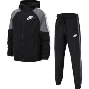 Nike NSW WOVEN TRACK SUIT B černá XL - Chlapecká souprava