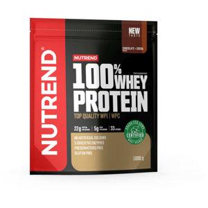 Nutrend 100% WHEY PROTEIN 1000 g ČOKOLÁDA-KOKOS   - Protein