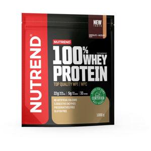 Nutrend 100% WHEY PROTEIN 1000 g ČOKOLÁDA-LÍSKOVÝ OŘECH   - Protein