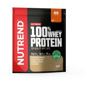 Nutrend 100% WHEY PROTEIN 1000 g POMERANČ   - Protein