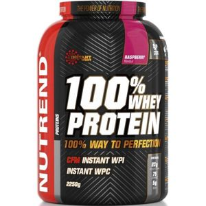 Nutrend 100% WHEY PROTEIN 2250G MALINA  NS - Protein