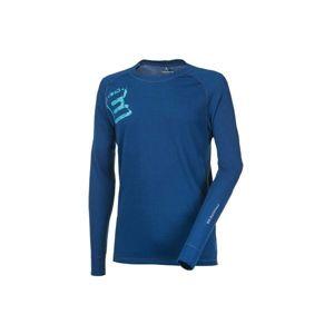 Progress DF NDR PRINT modrá L - Pánské funkční triko