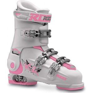 Roces IDEA FREE 36-40 bílá 36-40 - Dětské lyžařské boty