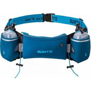 Runto DUO opasek + 2 lahvicky modrá NS - Sportovní bederní opasek