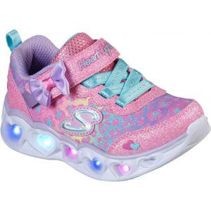 Skechers HEART LIGHTS  23 - Dětská volnočasová obuv