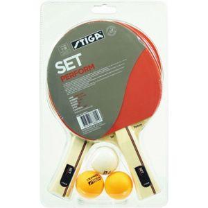 Stiga PERFORM SET červená  - Set na stolní tenis