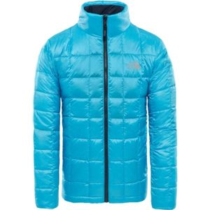 The North Face KABRU DOWN JACKET M modrá S - Pánská zateplená bunda