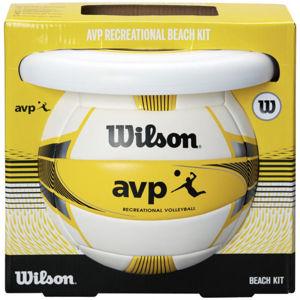 Wilson AVP BEACH KIT W/DISK YEL  5 - Plážový set
