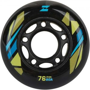 Zealot 76-80A WHEELS 4PACK zelená NS - Sada in-line koleček
